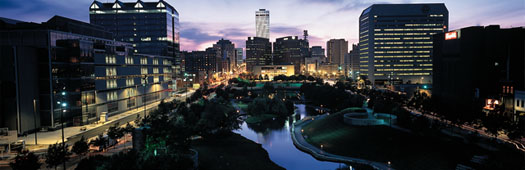 Skyline photo of Omaha -  Photography by Rick Anderson